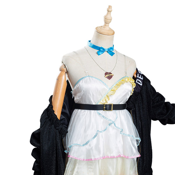 VOCALOID Hatsune Miku - Ai Kotoba Halloween Carnival Suit Cosplay Costume Women Dress Outfits