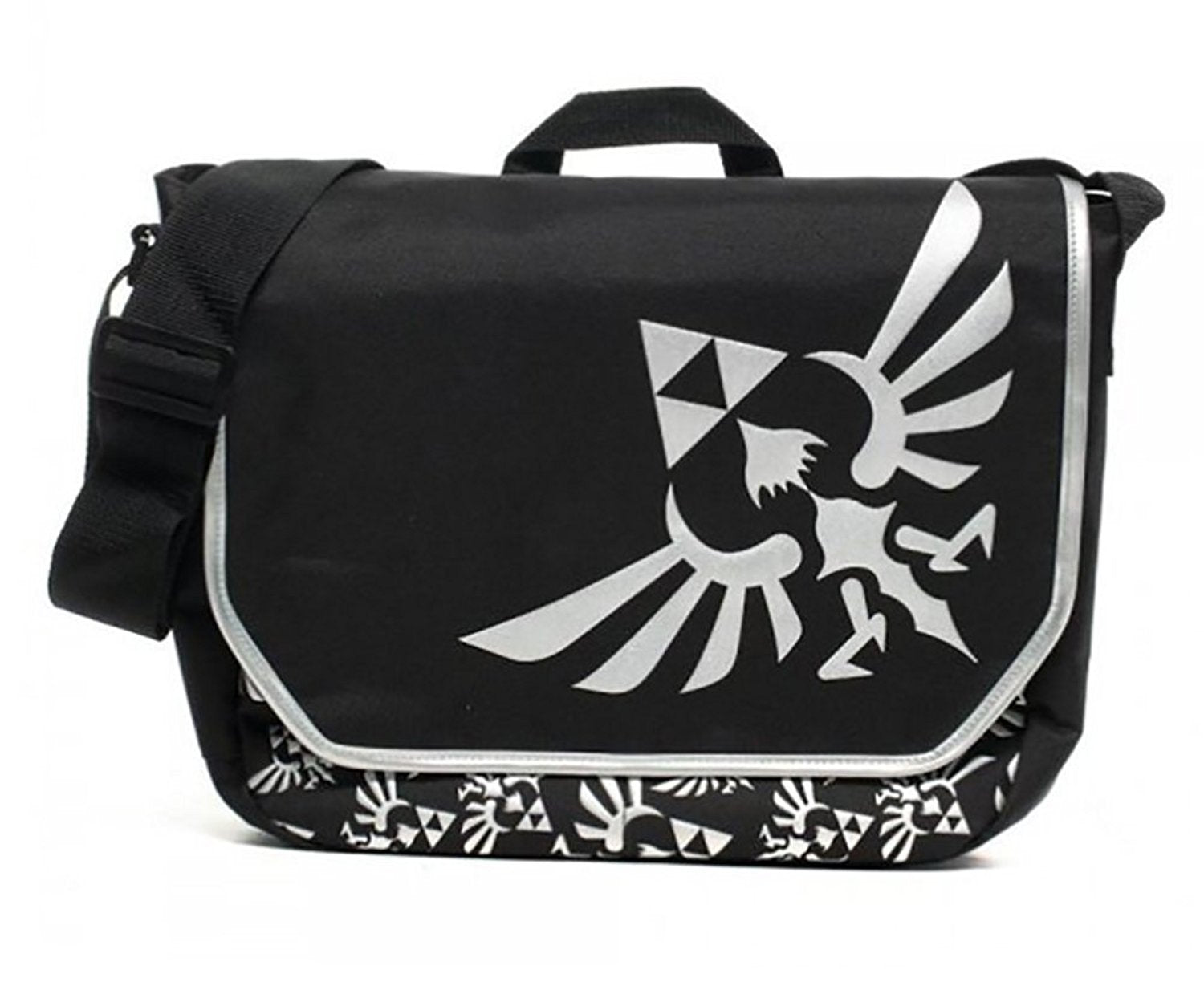 The Legend of Zelda Black Messenger Bag School Shoulder Crossbody Satchel Cosplay Accessories