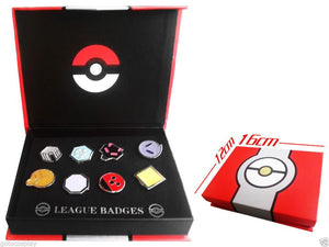 Pokemo Brooch Metal Badge set (Free Ship )