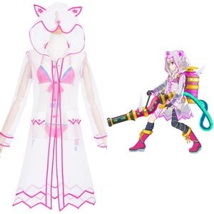 FGO Fate/Grand Order The Fifth Anniversary Illyasviel von Einzbern Halloween Carnival Suit Cosplay Costume Dress Outfits