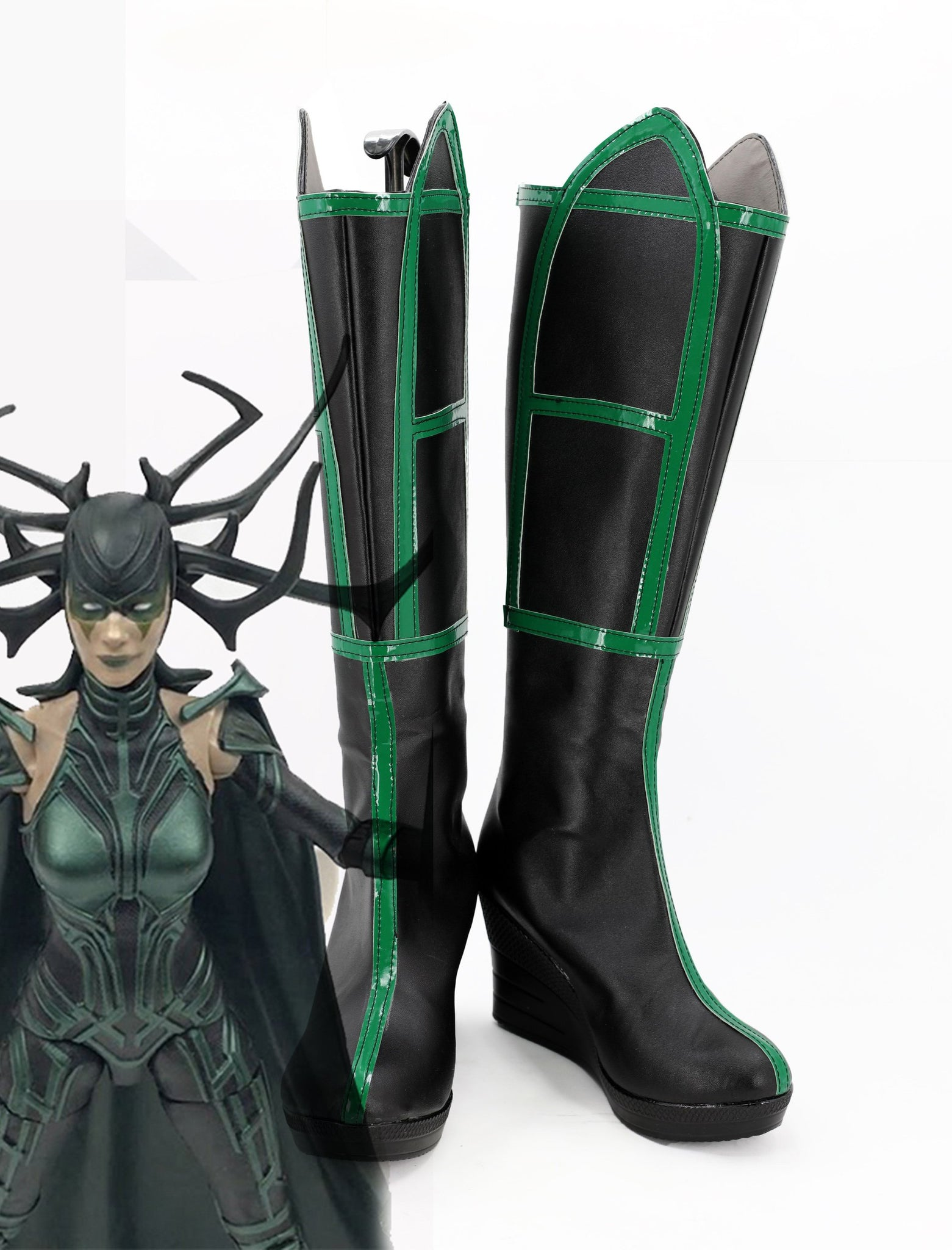 Thor 3 Ragnarok Goddess Of Death Hela Boots Cosplay Shoes