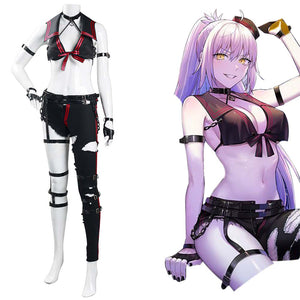 FGO Fate/Grand Order Imaginary Scramble Joan of Arc Jeanne d'Arc Halloween Carnival Suit Cosplay Costume Sailor Suit Outfits