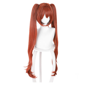 Pretty Derby Daiwa Scarlet Carnival Halloween Party Props Cosplay Wig Heat Resistant Synthetic Hair