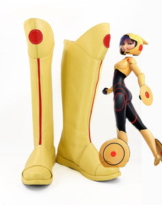 Big Hero 6 Go Go Tomago Boots Cosplay Shoes