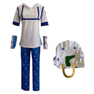 JoJo's Bizarre Adventure Johnny Joestar Halloween Carnival Costume Cosplay Costume Outfits