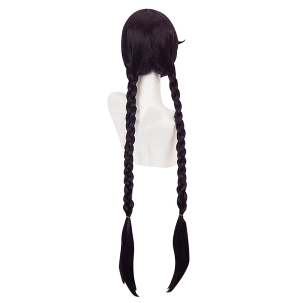 Danganronpa Touko Fukawa Carnival Halloween Party Props Cosplay Wig Heat Resistant Synthetic Hair