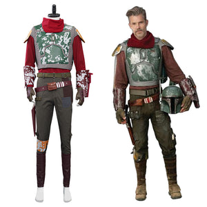 Star Wars Mandalorian Halloween Carnival Suit Cosplay Costume Outfits