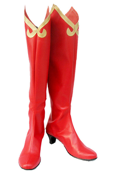 Phoenix Wright: Ace Attorney Milika Cosplay Boots Shoes