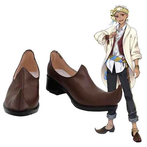 Twisted Wonderland Kalim Al-Asim Halloween Carnival Boots Costume Props Cosplay Shoes