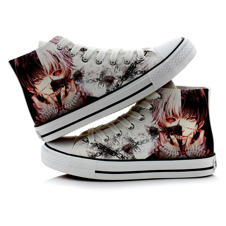 Tokyo Ghoul High-Top Sneakers Cosplay Shoes