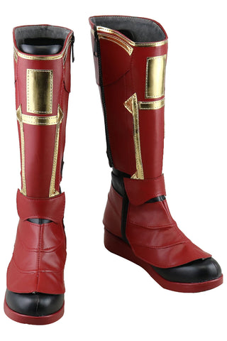 Avengers 4 :Endgame Captain Marvel Carol Danvers Cosplay Shoes