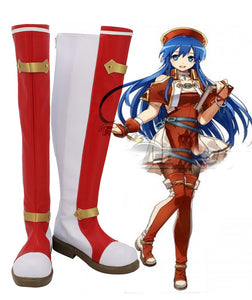 Fire Emblem Lilina Cosplay Shoes Boots