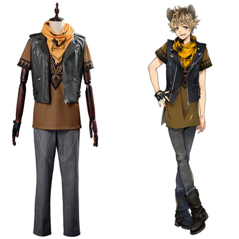 Game Twisted Wonderland Ruggie Bucchi Cosplay Costume