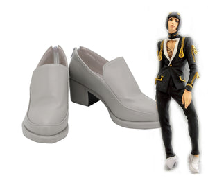 JoJo's Bizarre Adventure Bruno Bucciarati Cosplay Shoes