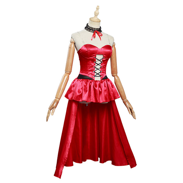Anime Date A Bullet Tokisaki Kurumi Halloween Carnival Costume Cosplay Costume Women Girls Dress Outfits