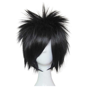 NARUTO Uchiha Sasuke Carnival Halloween Party Props Cosplay Wig Heat Resistant Synthetic Hair
