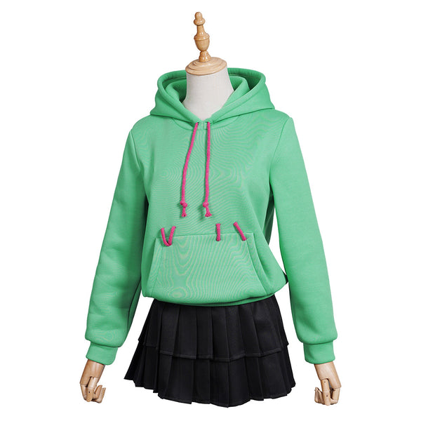 Ralph Breaks the Internet Yunnilop Halloween Carnival Costume Cosplay Costume Women Girls Hoodie Skirt Outfits