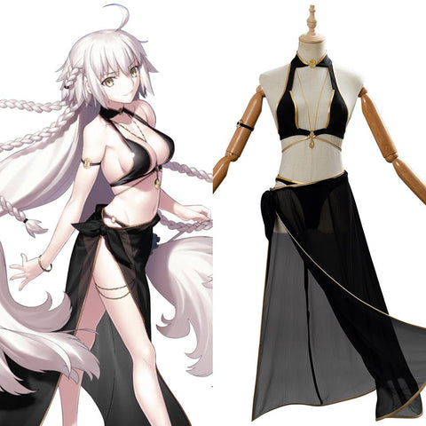 Fate/Grand Order Jeanne d'Arc Alter Cosplay Costume
