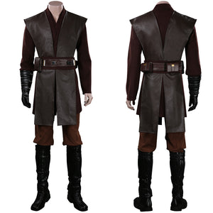 Star Wars Anakin Skywalker Cosplay Costume Outfits Halloween Carnival Suit