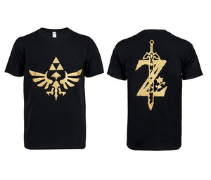 The Legend of Zelda :Breath of the Wild Black Short T-shirt