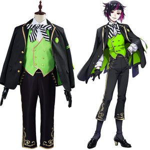 Twisted Wonderland Lilia Vanrouge Uniform Outfit Halloween Carnival Costume for Adult Cosplay Costume