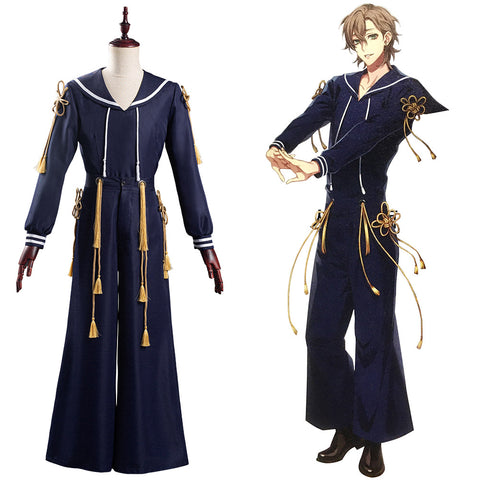 DRB Division Rap Battle Hypnosis Mic 2020 Yumeno Gentarō Halloween Carnival Suit Cosplay Costume Outfit