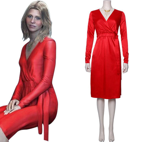 "Death Stranding-Samantha America ""Amelie"" Strand Dress Cosplay Costume"