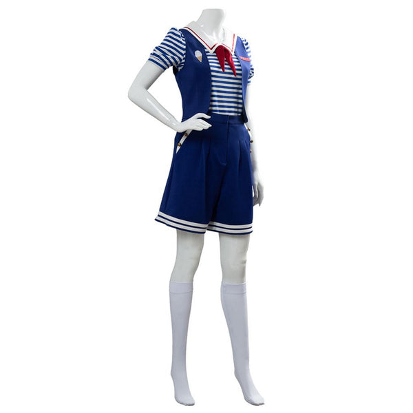 Stranger Things 3 Scoops Ahoy Robin Cosplay Costume