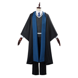 Harry Potter School Uniform Halloween Carnival Costumes for Men Cosplay Costume Ravenclaw Robe Cloak Outfit