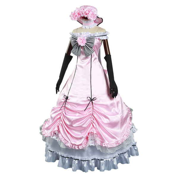Anime Black Butler Ciel Phantomhive Halloween Carnival Suit Cosplay Costume Dress Outfits