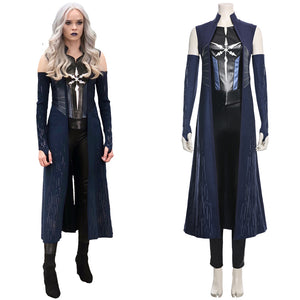 Caitlin Snow The Flash Season 6 Killer Frost Suit Cosplay Costume