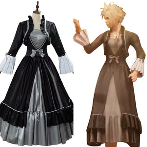 Game Cloud Strife Women Outfit Final Fantasy VII Remake Cosplay Costume