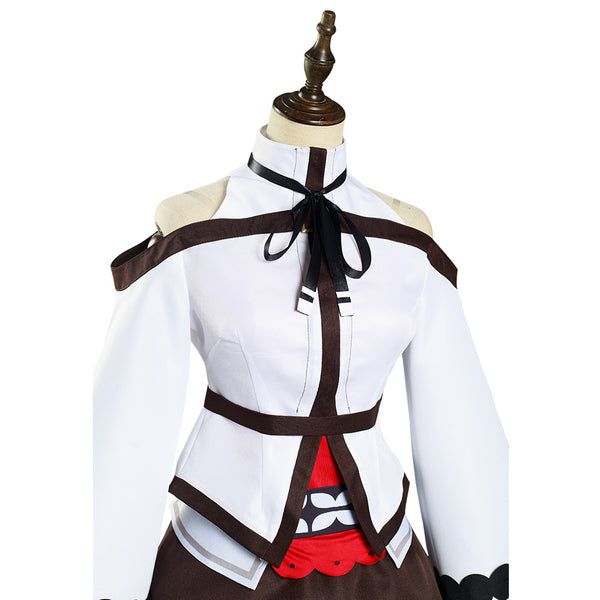 Mushoku Tensei: Jobless Reincarnation Eris Boreas Greyrat Halloween Carnival Suit Cosplay Costume Dress Outfits