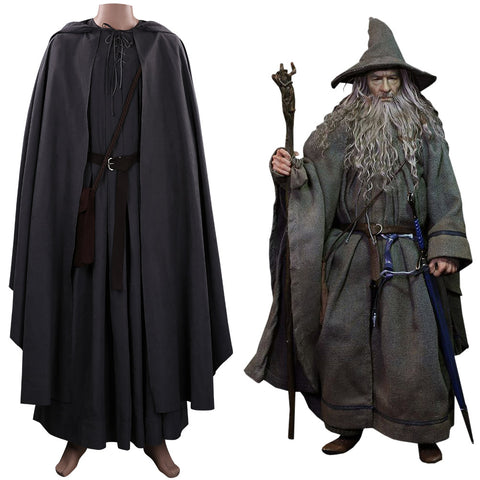 The Hobbit Gandalf Halloween Carnival Suit Cosplay Costume Outfits