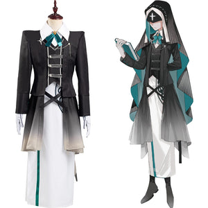 Game Identity V Scryer Eli Clark Halloween Carnival Suit Cosplay Costume Coat Dress Outffits