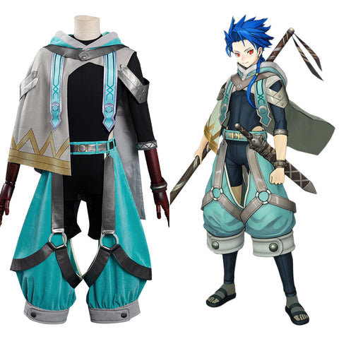 Fate/Grand Order Setanta Halloween Carnival Suit Cosplay Costume Jumpsuit Outfits