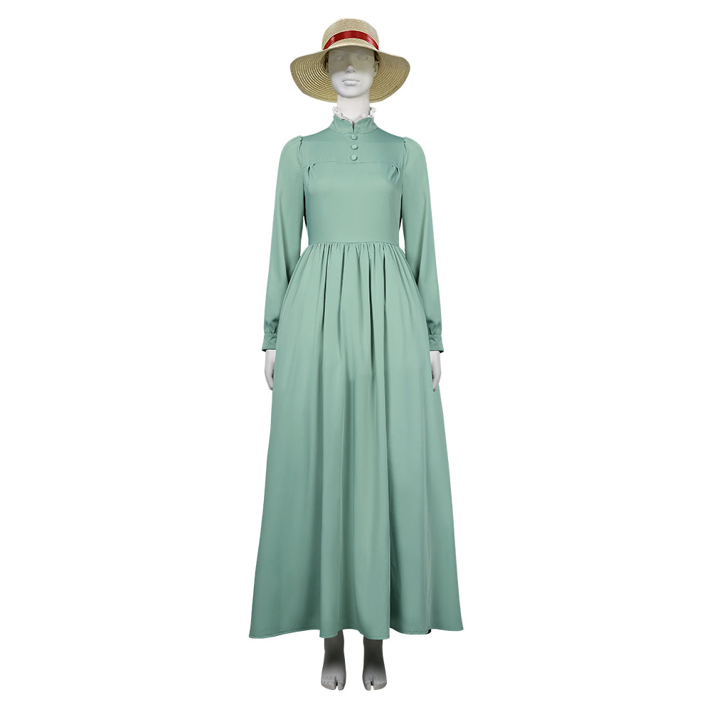 Movie Howl's Moving Castle-Sophie Hatter Halloween Carnival Suit Cosplay Costume Women Dress Outfits
