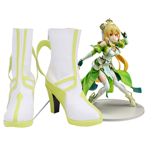 Sword Art Online SAO Kirigaya Suguha Cosplay Shoes Boots Halloween Carnival Costume Accessories