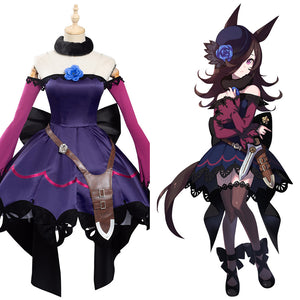 Anime Pretty Derby Rice Shower Halloween Carnival Suit Cosplay Costume Outfits