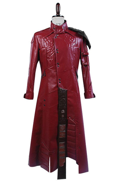 Guardians of The Galaxy Peter Quill Star-Lord Cosplay Costume Coat