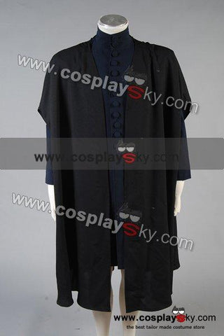 Harry Potter Deathly Hallows Severus Snape Costume Coat