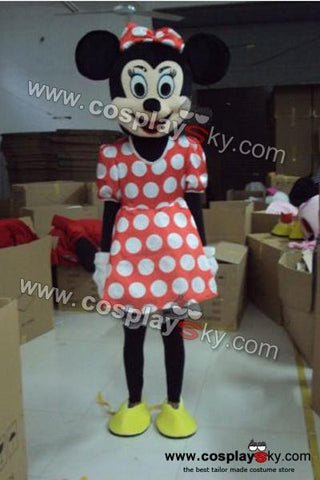 Minnie Mouse Mascot Costume Adult Size