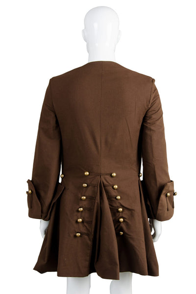 Pirates Of The Caribbean Jack Sparrow Jacket Only Costume