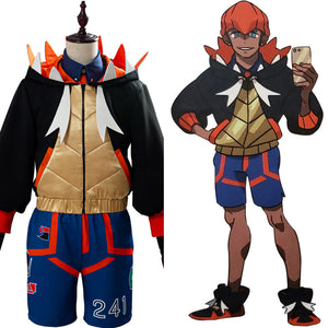 Raihan Pokemon Sword/Shield Cosplay Costume