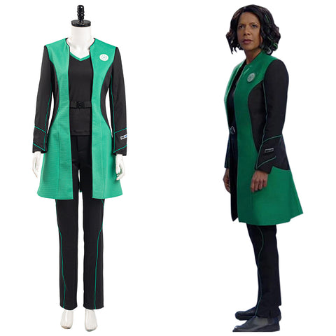 The Orville Into the Fold Dr. Claire Finn Medical Officer Halloween Carnival Suit Cosplay Costume Women Uniform Outfits