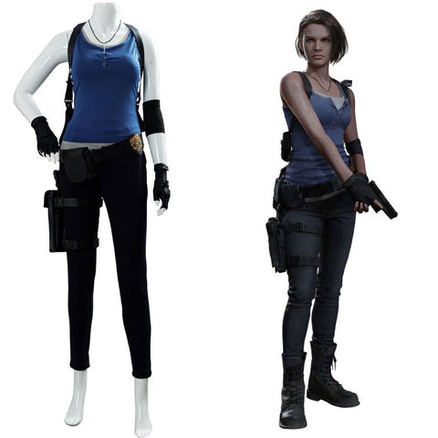 Jill Valentine Resident Evil 3: Remake Cosplay Costume
