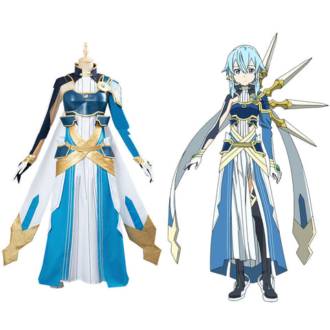 Sword Art Online SAO Asada Shino Halloween Uniform Cosplay Costume Custom Made