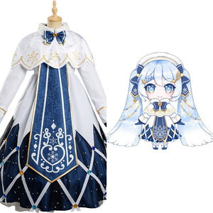Vocaloid 2021 Hatsune Miku Halloween Carnival Suit Cosplay Costume Dress Outfits