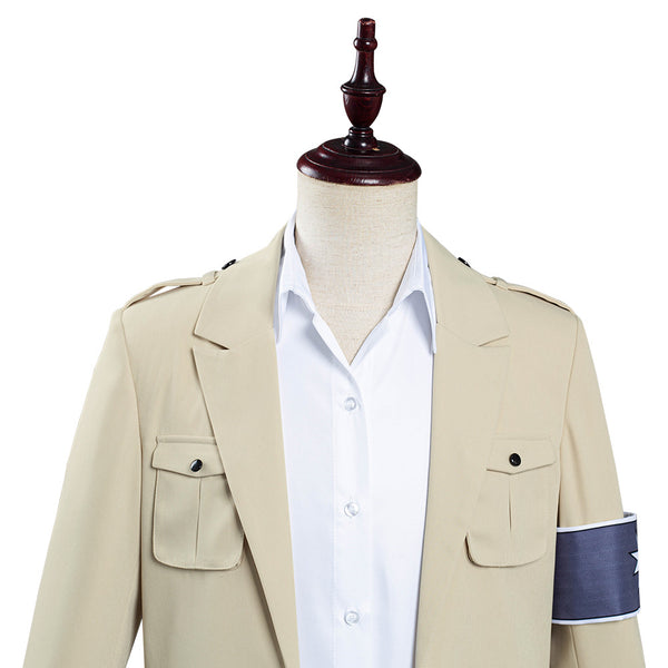 Attack on Titan The Final Season Eren Jaeger Halloween Carnival Costume Cosplay Costume Coat Shirt Outfits