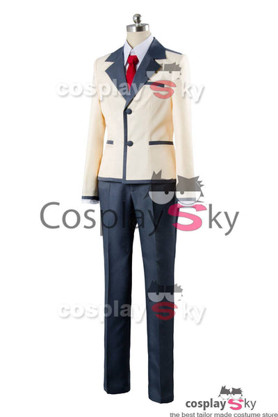 Aho Girl Akuru Akutsu Boy School Uniform Cosplay Costume